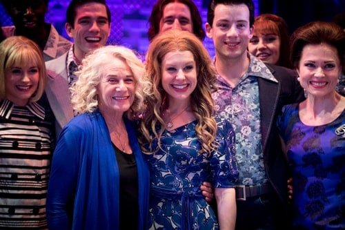 l-r Carole King, Cassidy Janson (Carole King), photo by Craig Sugden