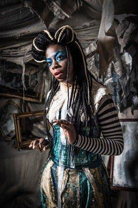 ALICE'S ADVENTURES UNDERGROUND. Olivia Nakintu 'Alice'.