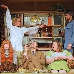 Cast of Abigail's Party: Theatre Royal Bath Productions