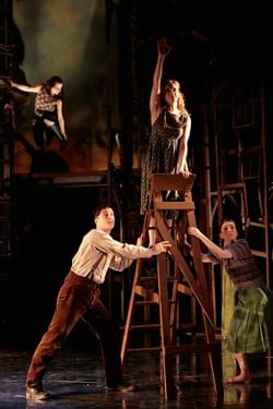 3. Suzanne Ahmet, Isaac Stanmore, Kate Batter & Lowri Izzard - I Capture the Castle - photography (c) Richard Lakos