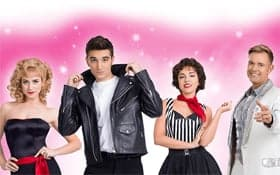 Grease Cast UK Tour 2017