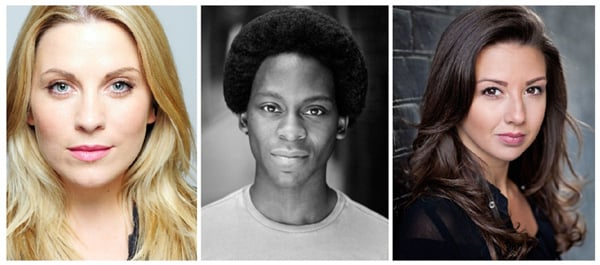 Louise Dearman, Tyrone Huntley, Zizi Strallen