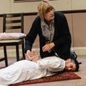 Ready Or Not by Naylah Ahmed - Joan Blackham as Pat Adam Karim as Yusuf - Credit Robert Day