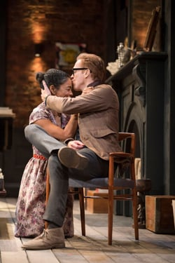 Edward Albee's The Goat, Or Who Is Sylvia - Sophie Okonedo (Stevie), Damian Lewis (Martin) Credit Johan Persson