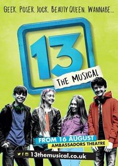 13 at Ambassadors Theatre