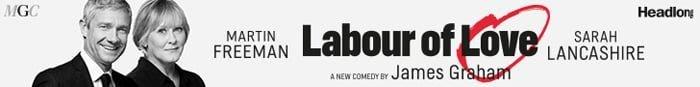 Martin Freeman and Sarah Lancashire star in Labour of Love