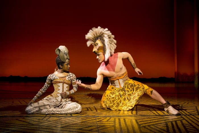 'Can You You Feel The Love Tonight' - Nick Afoa as Simba, Janique Charles as Nala 2017 ©Disney