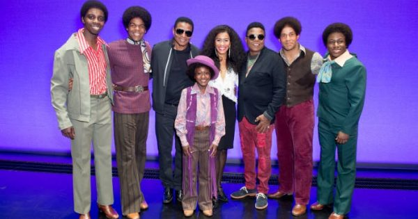 Motown The Musical London welcomed Jackie and Tito Jackson