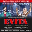 Evita London West End Tickets on sale for Phoenix Theatre