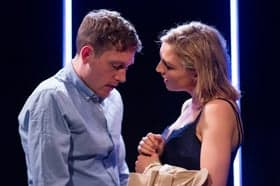 Punts, Theatre503 - Christopher Adams and Florence Roberts