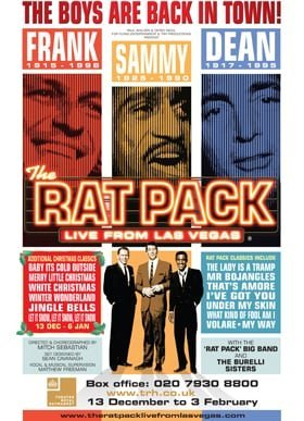 Rat Pack Live 2017 poster