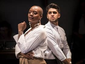 TNia Miller Scheffler and Arian Nik Karlmann in The Ugly One Credit Helen Maybanks