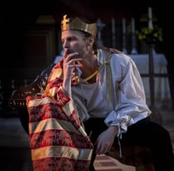MACBETH - David Hywel Baynes as Macbeth Photo Hannah Barton