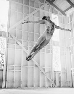 Sergei Polunin credit David LaChapelle