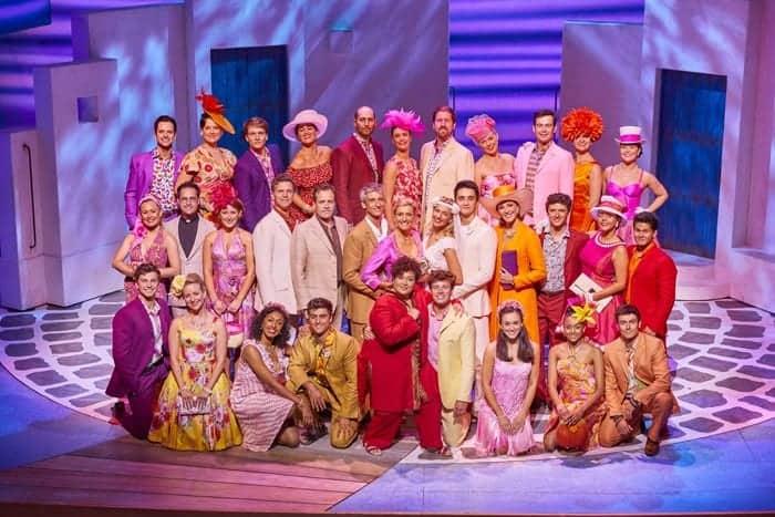 The cast of MAMMA MIA! Credit Brinkhoff & Mögenburg