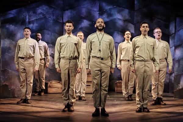 The company of YANK! at Charing Cross Theatre, credit Clair Bilyard