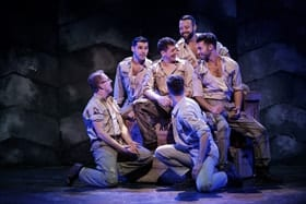 The company of YANK! at Charing Cross Theatre, credit Claire Bilyard