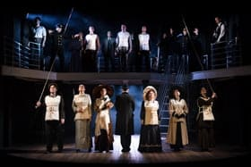 Titanic The Musical (2013 cast). Photo by Scott Rylander