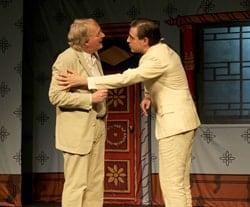 Chinese Whispers: Steve Nallon as John Bland and Mark Farrelly as Edmund Backhouse