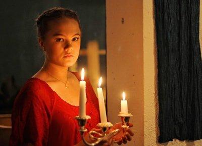 Sandra Kassman as Ophelia