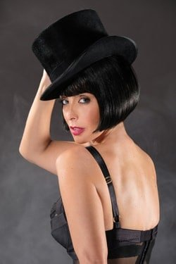 Cabaret: Louise Redknapp as Sally Bowles in Cabaret, credit JIM MARKS