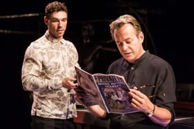 Le Grand Mort - James Nelson-Joyce (Tim) and Julian Clary (Michael) Photo Scott Rylander