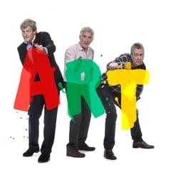 ART - Nigel Havers, Denis Lawson & Stephen Tompkinson, credit Jon Swannell