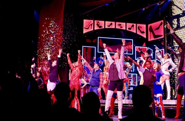 Kinky Boots 2nd Birthday Curtain Call - Credit Gabby Wallace