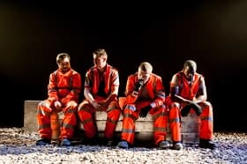 31 Hours - The Cast Photo by Lidia Crisafulli