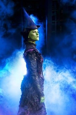 Amy Ross as Elphaba in WICKED UK & Ireland Tour. Photo Credit Matt Crockett