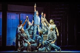 Ben Adams and Flashdance Company - Credit Brian Hartley