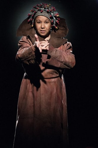 Gilmagesh Nicola Blackman as HUMBABA Photo McVirn Etienne