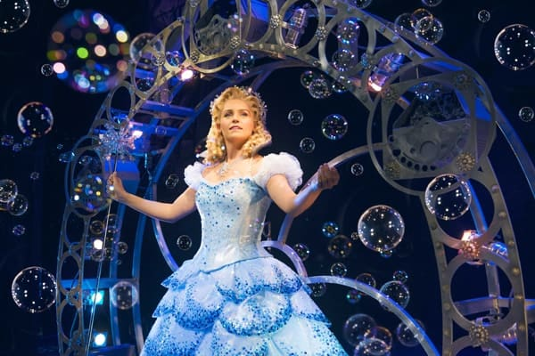 Helen Woolf as Glinda in WICKED UK & Ireland Tour. Photo Credit Matt Crockett