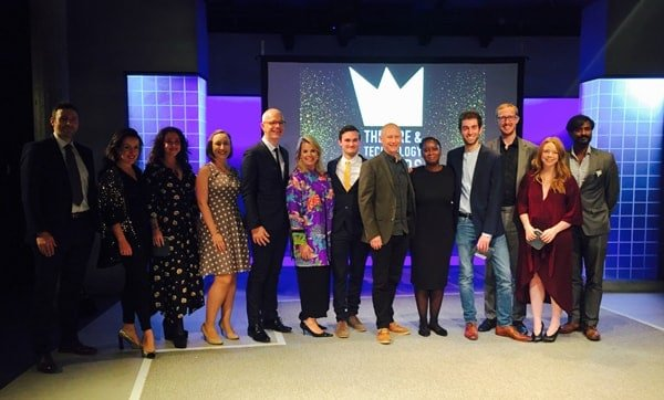 Winners Theatre and Technology Awards 2017