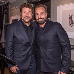 Michael Ball and Alfie Boe - Photo credit Brian Rasic