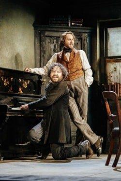 l-r Rory Kinnear (Karl Marx), Oliver Chris (Friedrich Engels), photo by Manuel Harlan