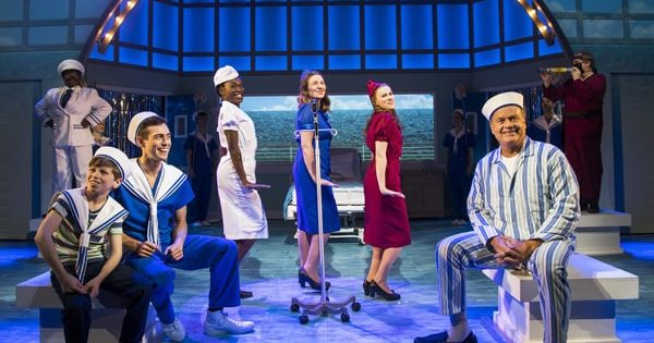 Review of big fish the musical at the other palace theatre for Big fish cast
