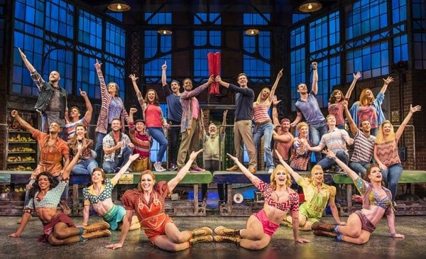 Kinky Boots London Company 2017-2018 Photo by Matt Crockett