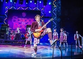 Stephen Leask - Dewey Finn in School of Rock