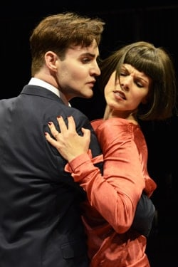 For Love or Money: Jos Vantyler as Arthur and Sarah-Jane Potts as Rose