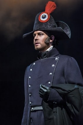 Les Misérables. David Thaxton as Javert. Photo by Johan Persson.