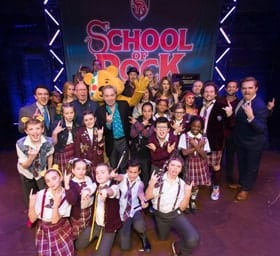 School of Rock The Musical - Children In Need - Photographer credit Paul Hampartsoumian