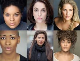 Six cast