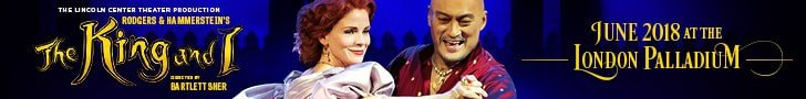 The King and I at the London Palladium