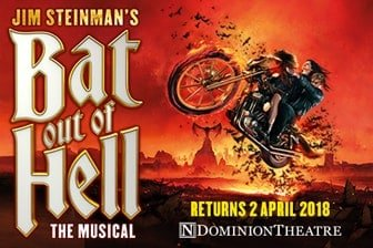 Bat Out of Hell The Musical 2018 London Dominion Theatre