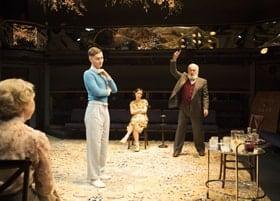 Rhys Isaac-Jones, Marli Siu, Pip Donaghy in MISALLIANCE by Bernard Shaw - Orange Tree Theatre - photo Helen Maybanks