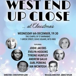 West End Up Close Concert 2017