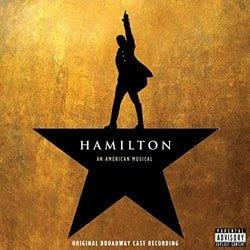 Hamilton Broadway cast recording