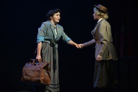 Oranges & Elephants. Christina Tedders (Nellie) & Sinead Long (Mary). Credit - Sharron Wallace