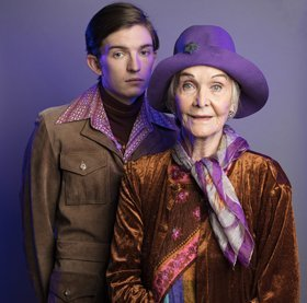 Harold and Maude - Bill Milner and Sheila Hancock PHOTO by Darren Bell
